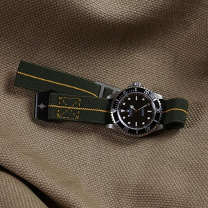 Paratrooper PVD Strap Khaki Green and Yellow