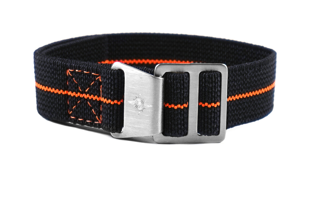 Paratrooper Strap Black and Orange