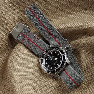 Paratrooper Strap Gray and Red