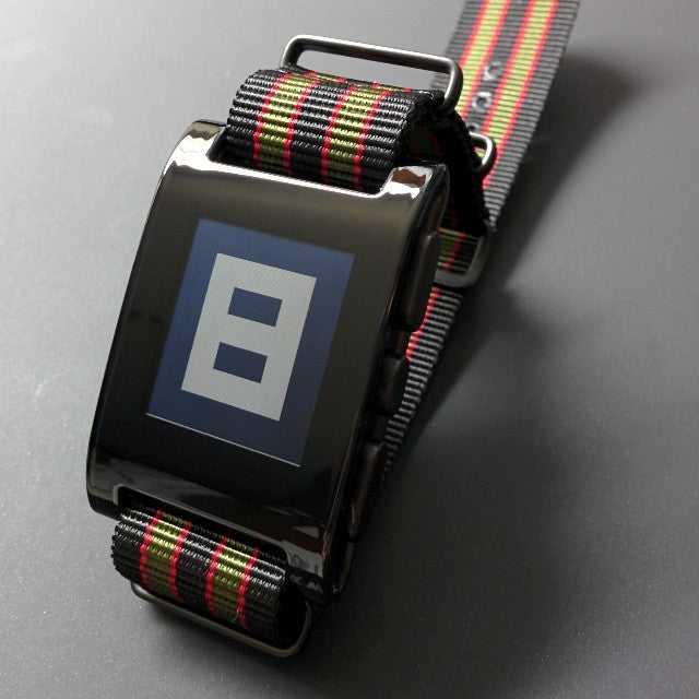 "Extra Long PVD NATO Strap Black, Red and Green ""James Bond"" - Cheapest NATO Straps  - 3"