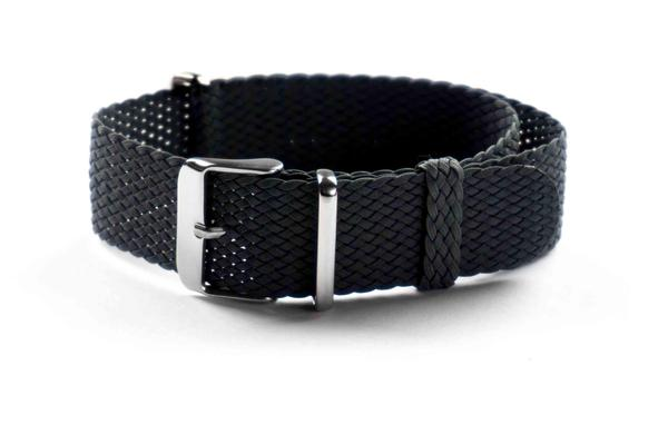 Perlon NATO strap Black (22 mm)