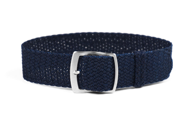 Cloudy Perlon strap Midnight