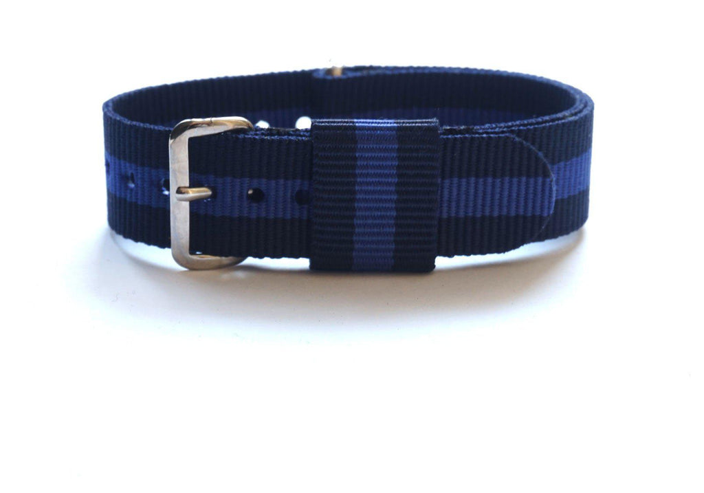 Premium Original NATO Strap Navy and Purple - Cheapest NATO Straps  - 1