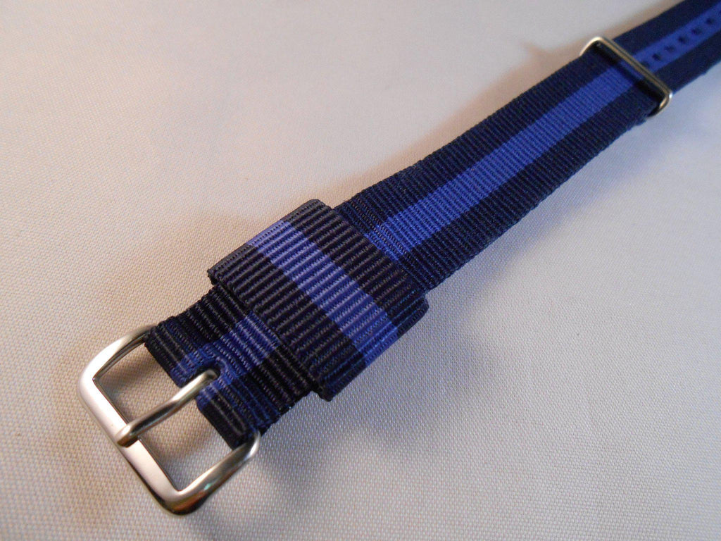 Premium Original NATO Strap Navy and Purple - Cheapest NATO Straps  - 2
