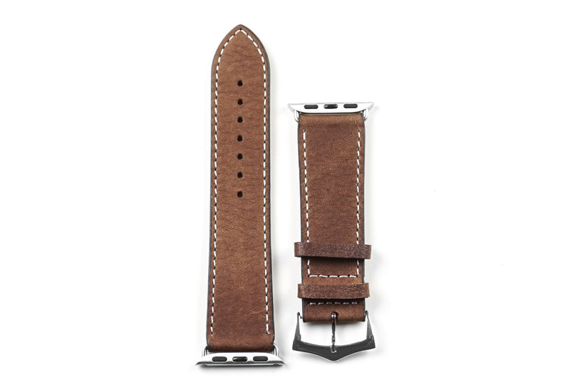 Apple Watch Strap Premium Classic Chocolate Brown