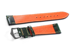 Premium Classic Dark Green and Orange
