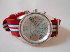 Premium Original NATO Strap Norway, Red, Blue and White - Cheapest NATO Straps  - 3
