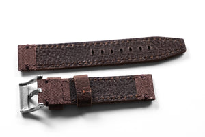 Ranch Leather and Canvas Brown