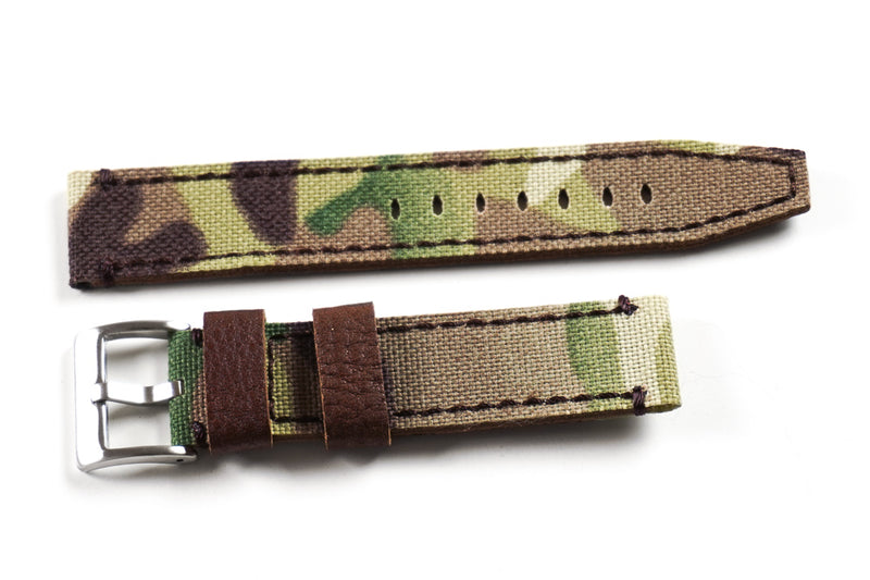 Ranch Leather and Canvas Camouflage