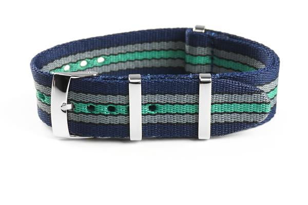 Deluxe Seat Belt NATO Navy Baron (20 & 22 mm)