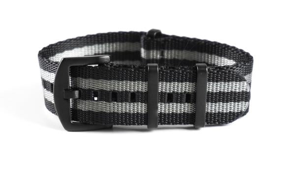 Budget PVD Seat Belt NATO strap James Bond (20 & 22 mm)