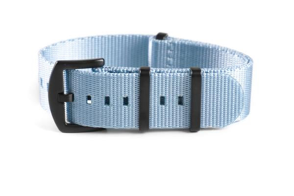 Budget PVD Seat Belt NATO strap Ice Gray (20 & 22 mm)