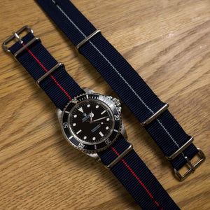 NATO Strap Marine Nationale Baltic (21 mm)