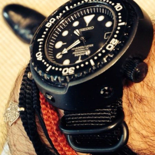 PVD Zulu Strap 5-ring Black - Cheapest NATO Straps  - 5