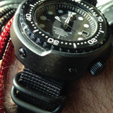 Extra Long PVD Zulu Strap 5-ring Black - Cheapest NATO Straps  - 4