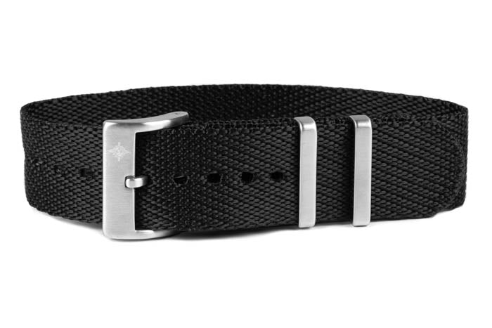Single Pass Strap Black