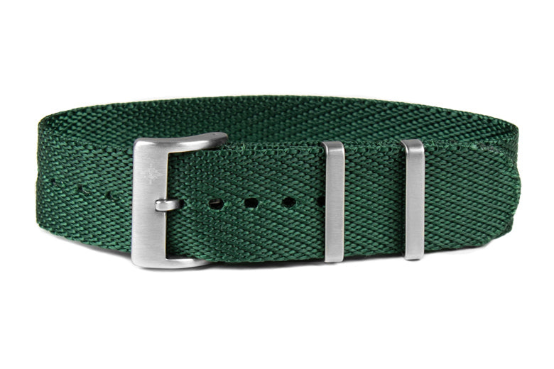 Single Pass Strap British Racing Green