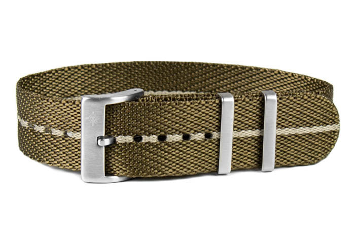 Single Pass Strap Khaki and Barley