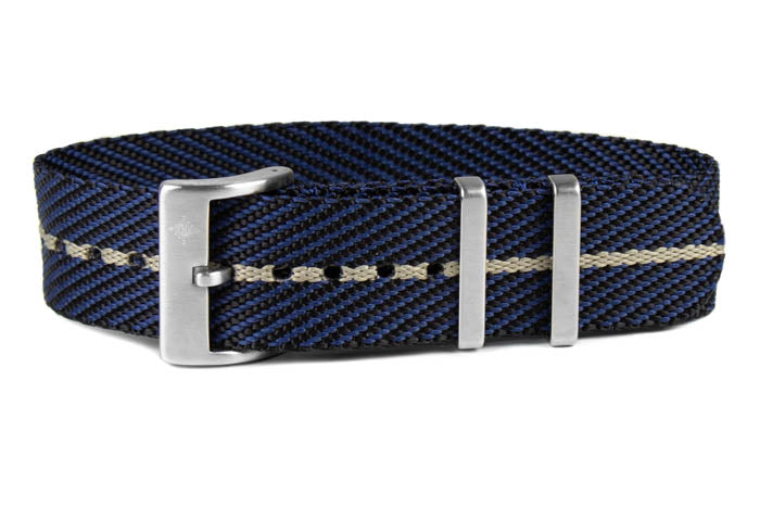 Single Pass Strap Midnight and Barley