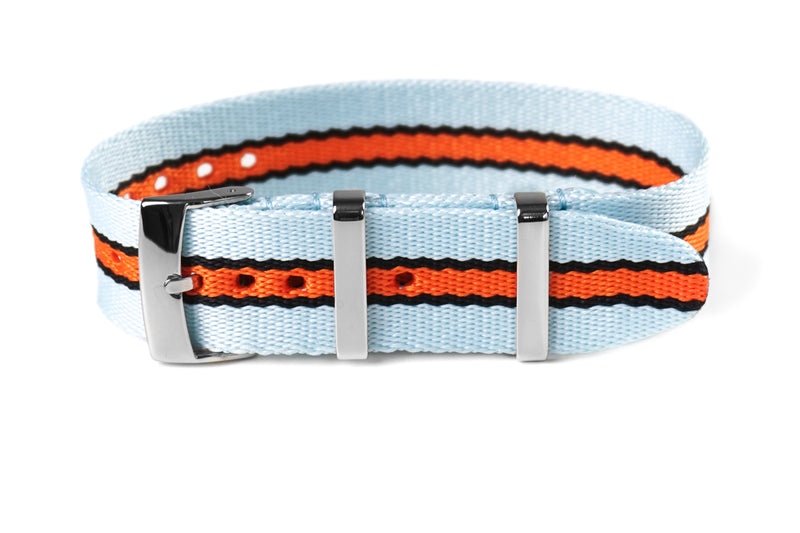 Single Pass Seat Belt Strap Gulf Racing (18 & 22 mm)
