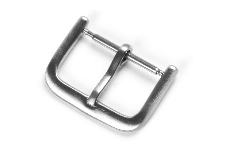 Thin Brushed Stainless Steel Buckle