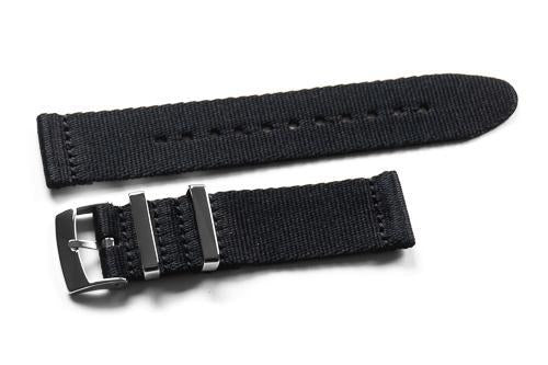 Two Piece Seatbelt Black (20 mm)