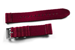 Two Piece Seatbelt Burgundy