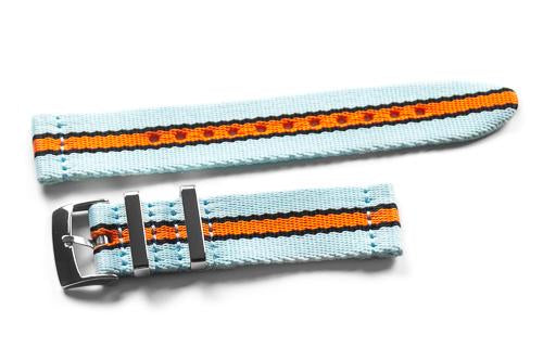 Two Piece Seatbelt Gulf Racing (18 & 20 mm)