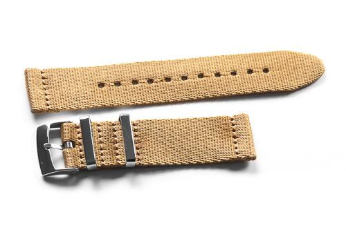 Two Piece Seatbelt Khaki (18 & 22 mm)