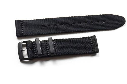 Two Piece Seatbelt PVD Black (20 & 22 mm)