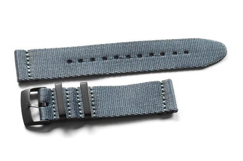 Two Piece Seatbelt PVD Gray