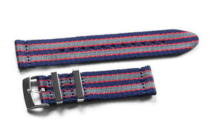 Two Piece Seatbelt Pepsi Diver (18, 20 & 22 mm)