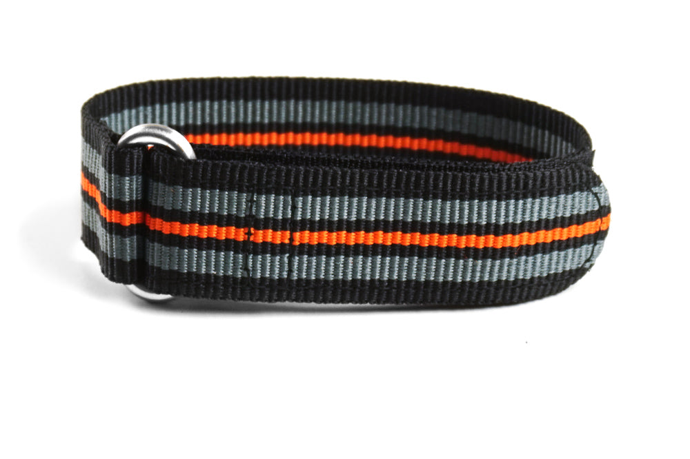 Velcro Diver Black, Gray and Orange