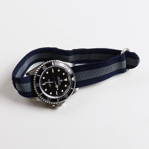 Velcro Diver Navy and Gray