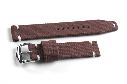Vintage Canvas Dark Brown