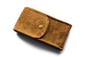 Watch Pouch Brown Suede
