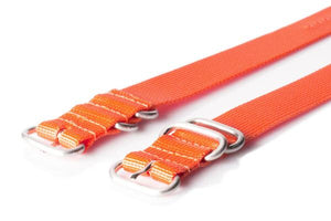 Zulu strap 3-ring Orange