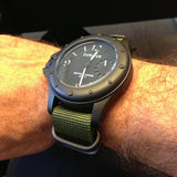 Extra Long PVD Zulu Strap 5-ring Khaki Green - Cheapest NATO Straps  - 4