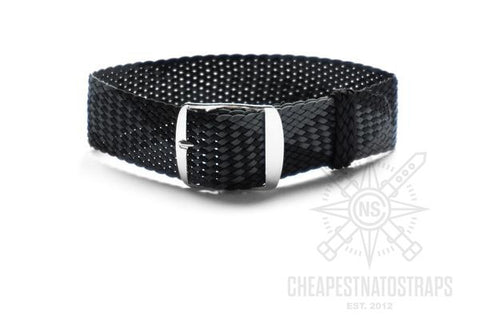 Perlon strap dark gray