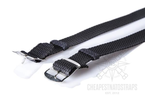 Adjustable Perlon strap antrazithe