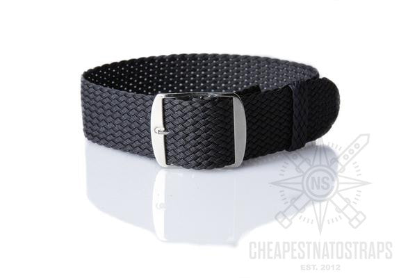Adjustable Perlon strap antrazithe - Cheapest NATO Straps  - 3