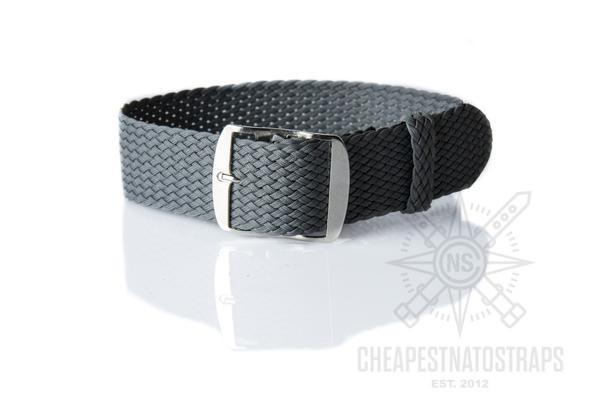 Perlon strap dark gray (22 & 24 mm)