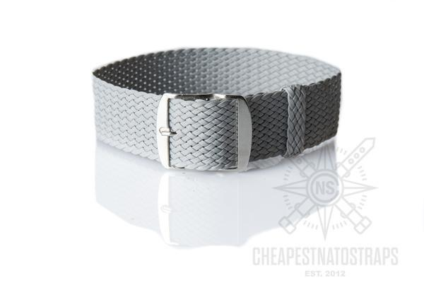 Perlon strap gray (18 & 22 mm)