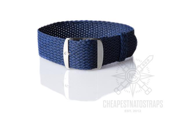 Perlon strap Navy blue (18 & 20 mm)