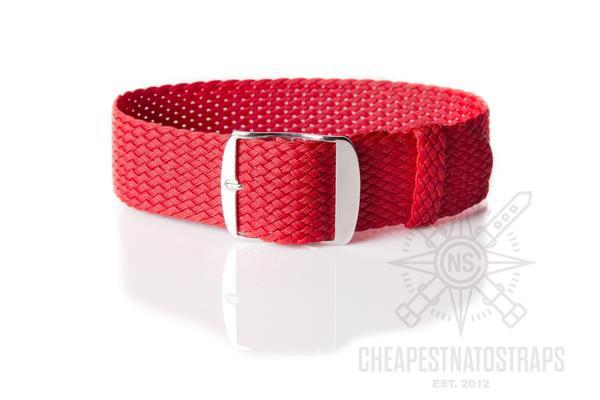 Perlon strap Red (18, 20 & 24 mm)