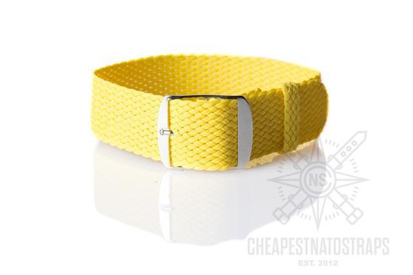 Perlon strap yellow (18 mm)