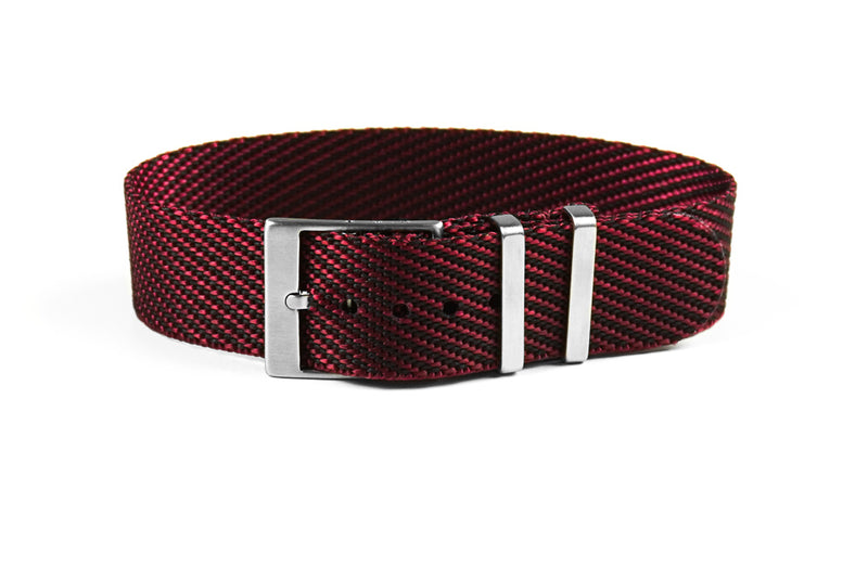 Adjustable Single Pass Strap Burgundy