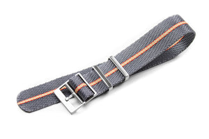 "Adjustable Single Pass Strap ""The Gray Explorer"""