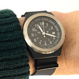 Extra Long PVD NATO Strap Black - Cheapest NATO Straps  - 3