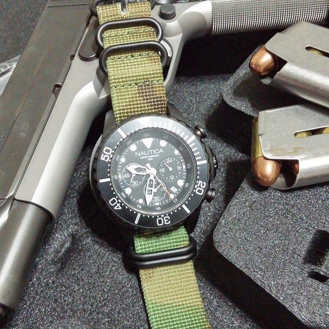 PVD Zulu Strap 5-ring Camouflage - Cheapest NATO Straps  - 8